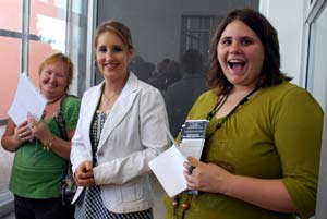 Adette and Luzaan welcomes new students